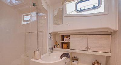 Cabinas y cuartos de baño del Horizon 4