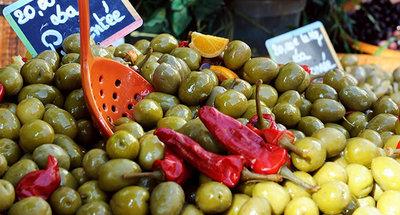 Mercado en Francia