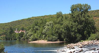 Baño en el Río Lot