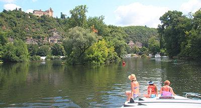 Deportes acuáticos en el Río Lot