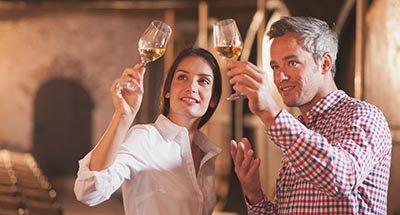 Cata de vino en el Midi