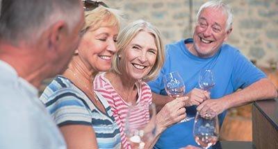 Catas de vino en grupo