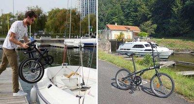 En bicicletta en Toulouse