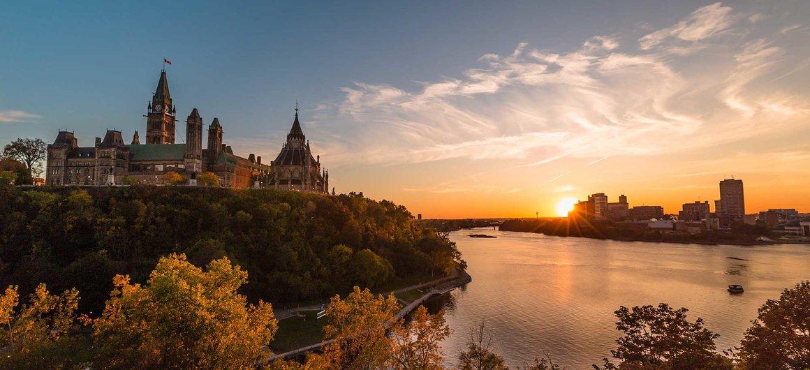 Colina del Parlamento, Ottawa, Canada