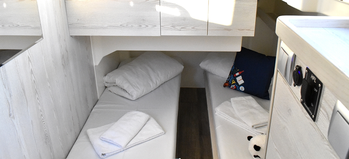 Horizon 5  - side cabin