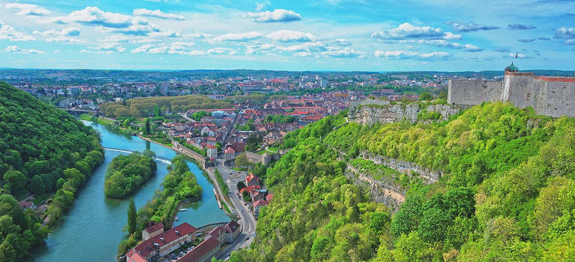 Besançon en Borgoña
