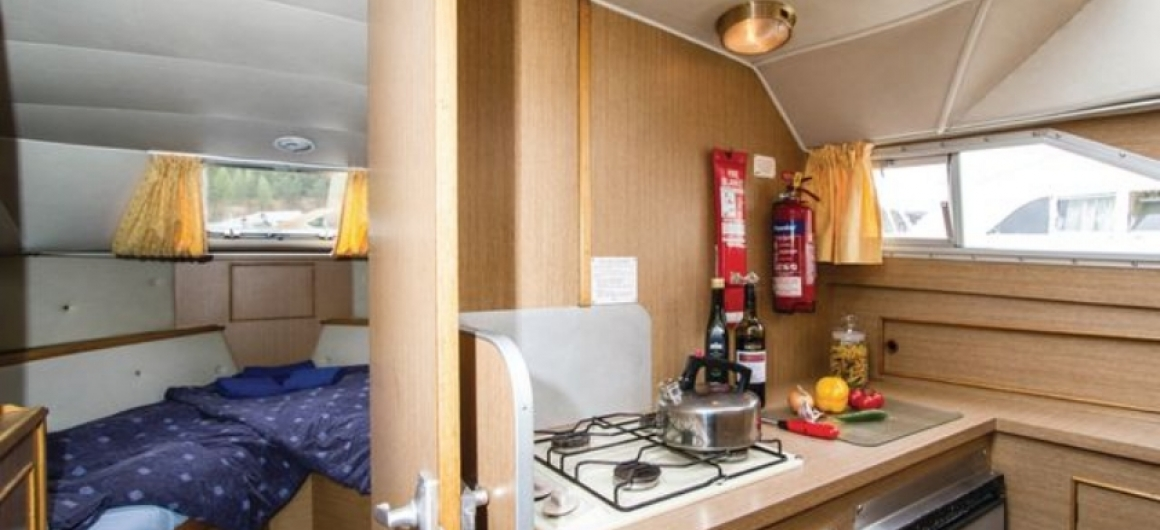 Braemore WHS - cocina y cabina delantera