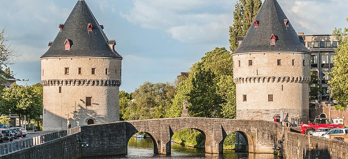Torres de Broel en Kortrijk
