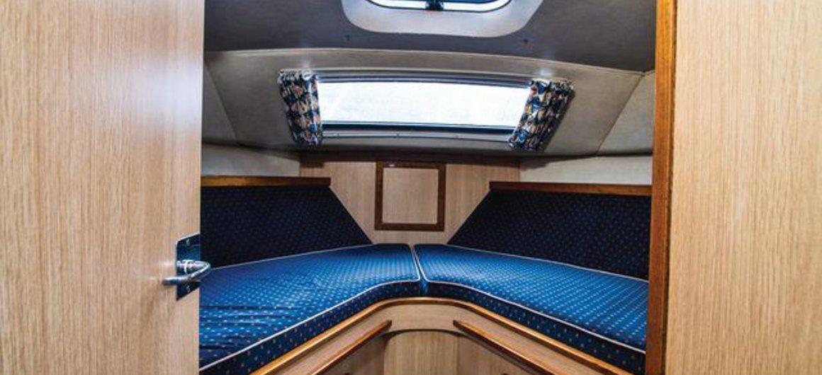 Curlew WHS - cabina delantera