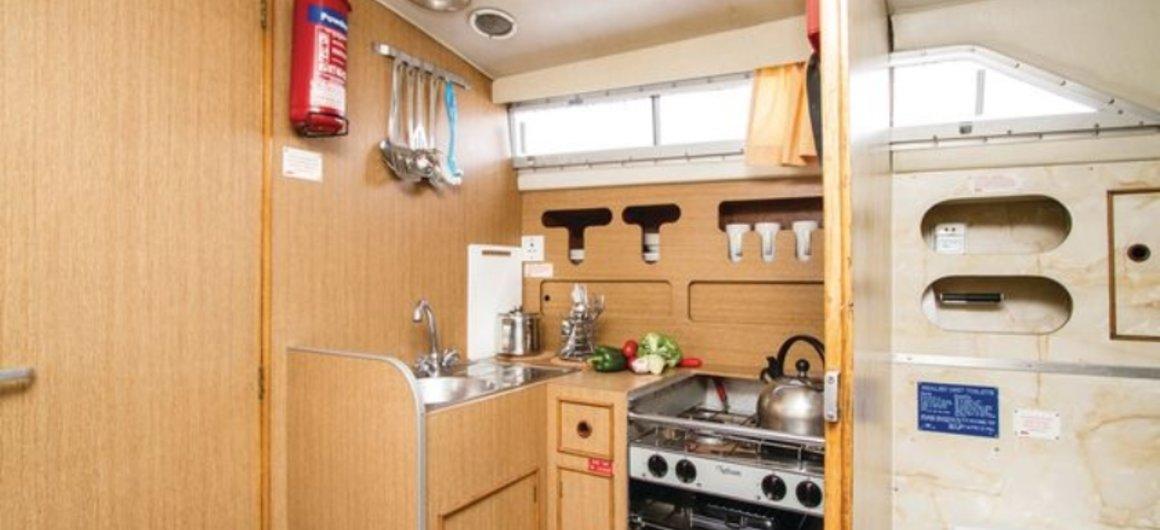 Cygnet WHS - cocina y cuarto de baño