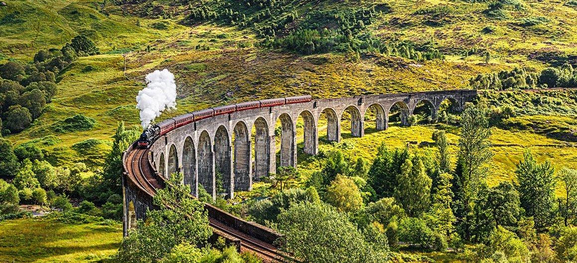 El viaducto de Glenfinnan