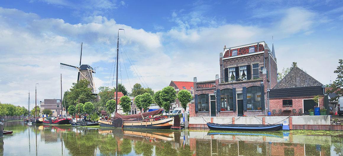 Barcos y molinos de viento, Gouda
