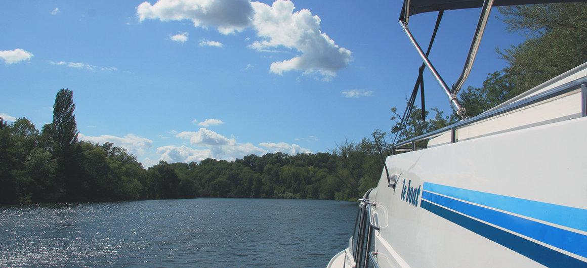 Le Boat en el Lot
