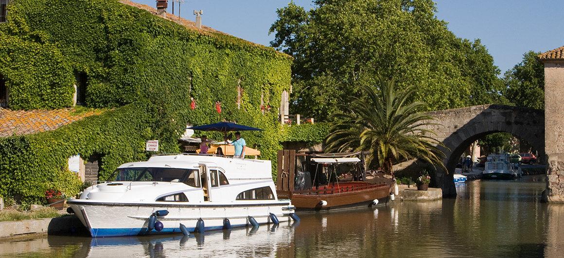 Barco Le Boat en Le Somail, Canal du Midi