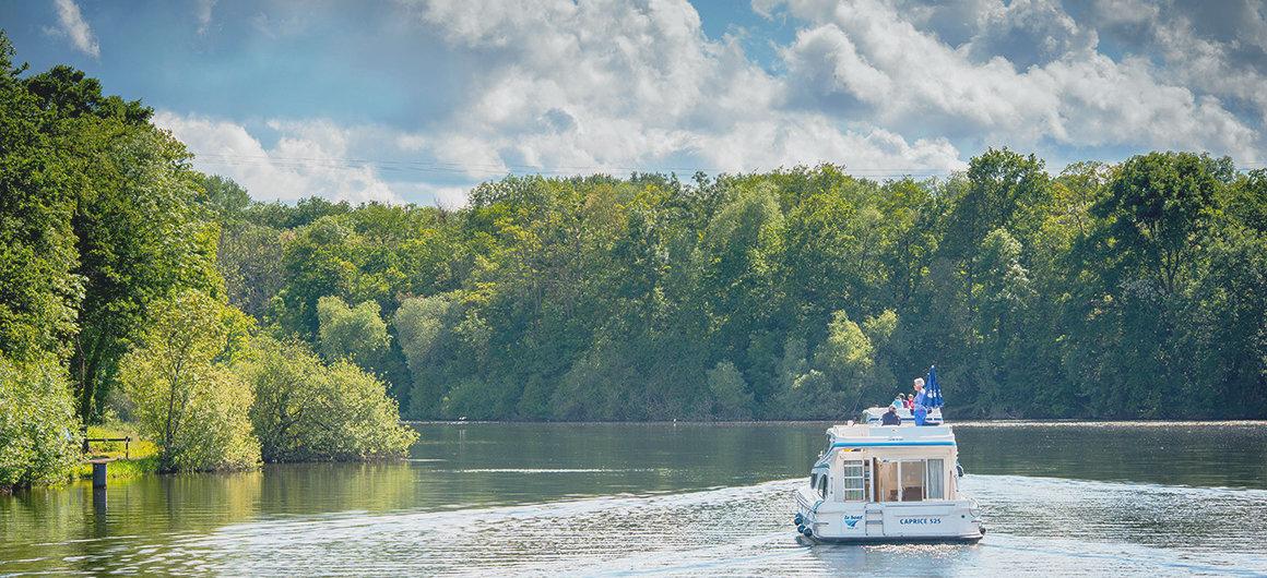 Navegación en Borgoña