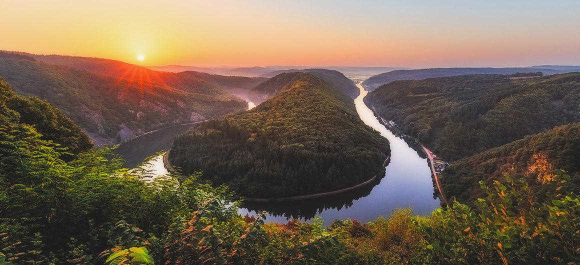 Meandros del río Sarre