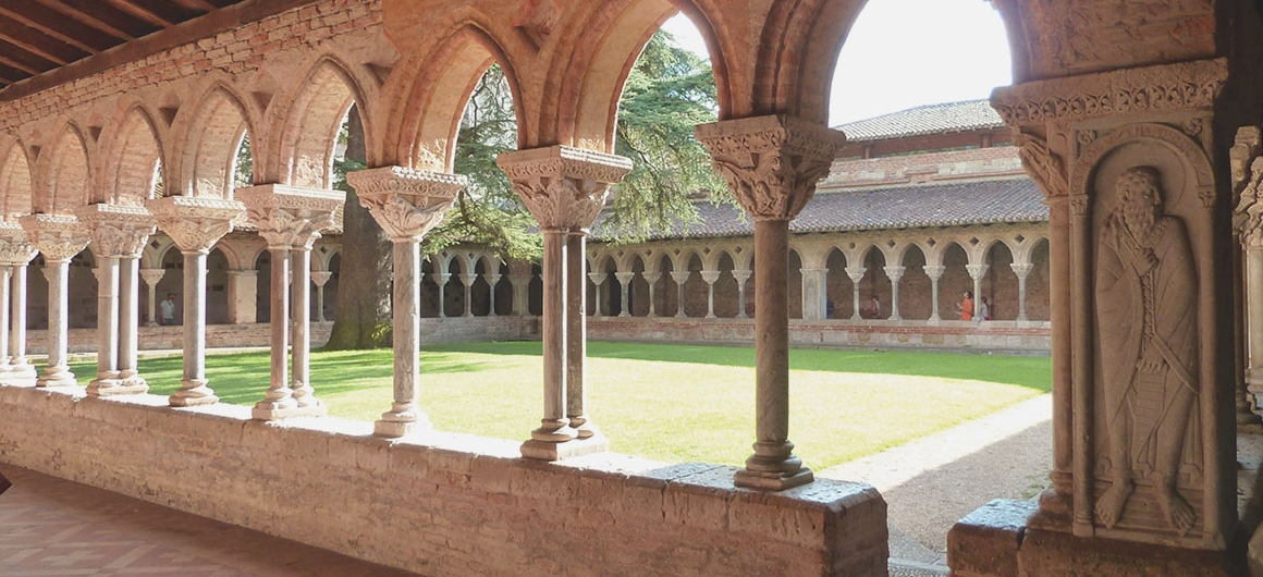 La Abadía de Moissac en Aquitania