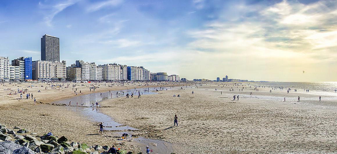 Playa en Ostende