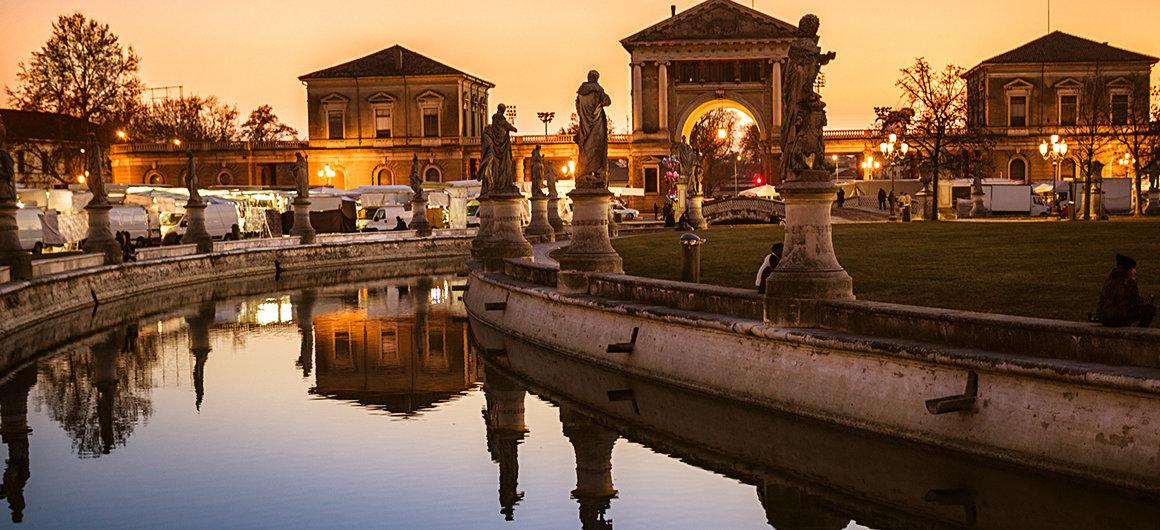 Prato della Valle en Padua