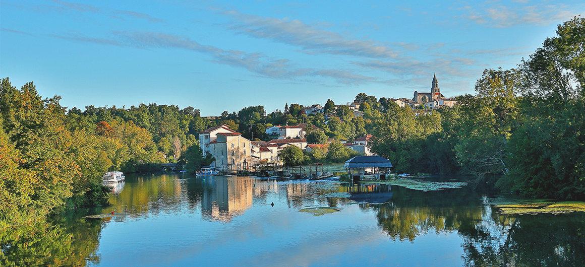 Vistas del Río Charente