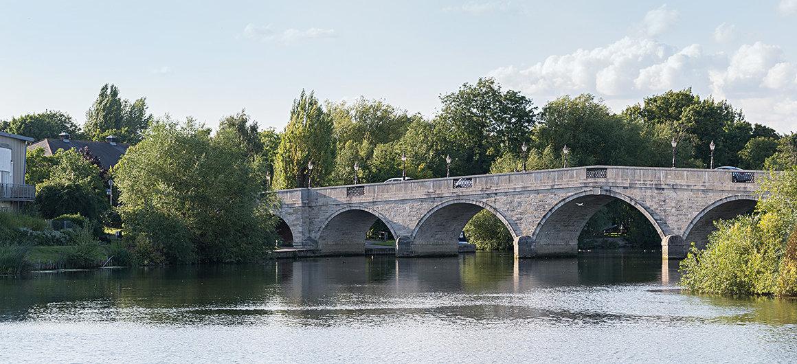 Puente cerca de Windsor, el Támesis