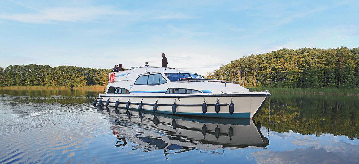 El Royal Mystique en el lago Müritz, Alemania