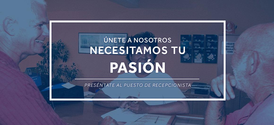 Necesitamos tu pasión