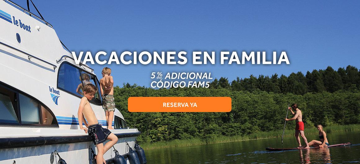 Vacaciones en familia con Le Boat