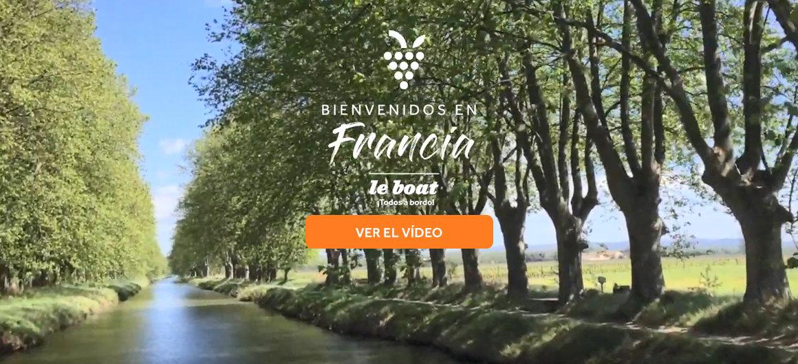 Video destino francia Le Boat