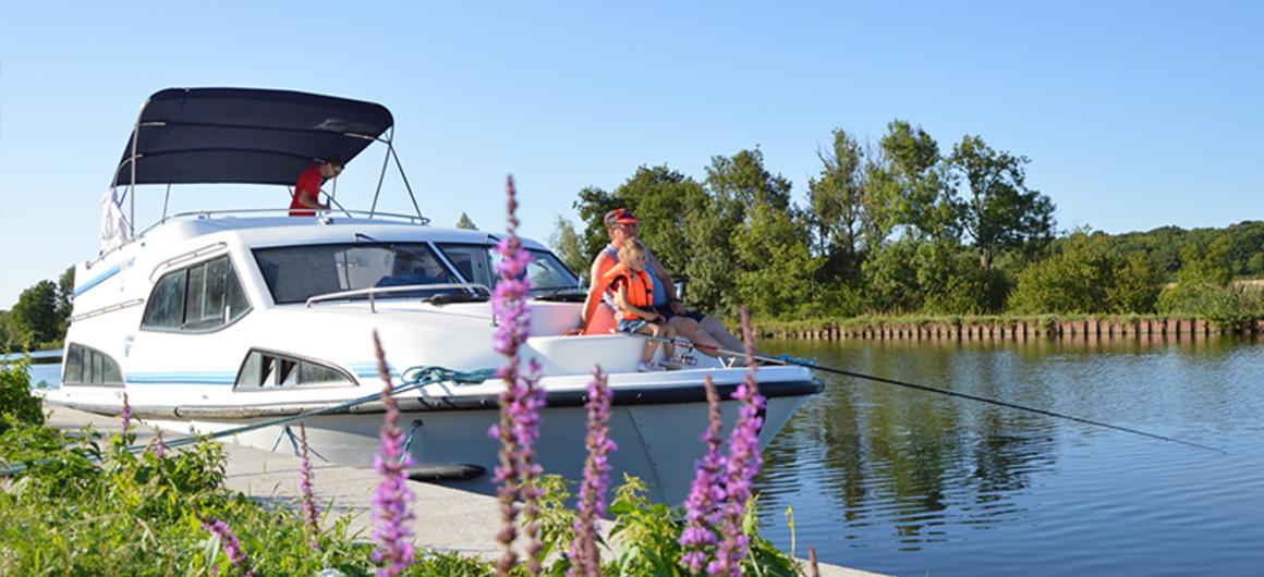 Vacanza in houseboat a Pasqua e Primavera