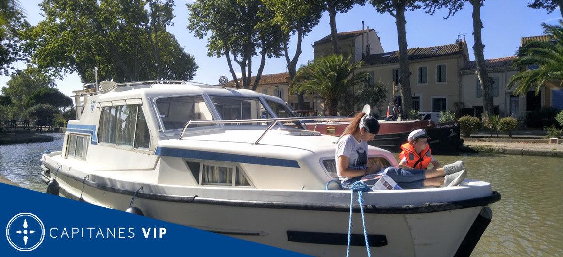Capitán Alexey en el Canal du Midi