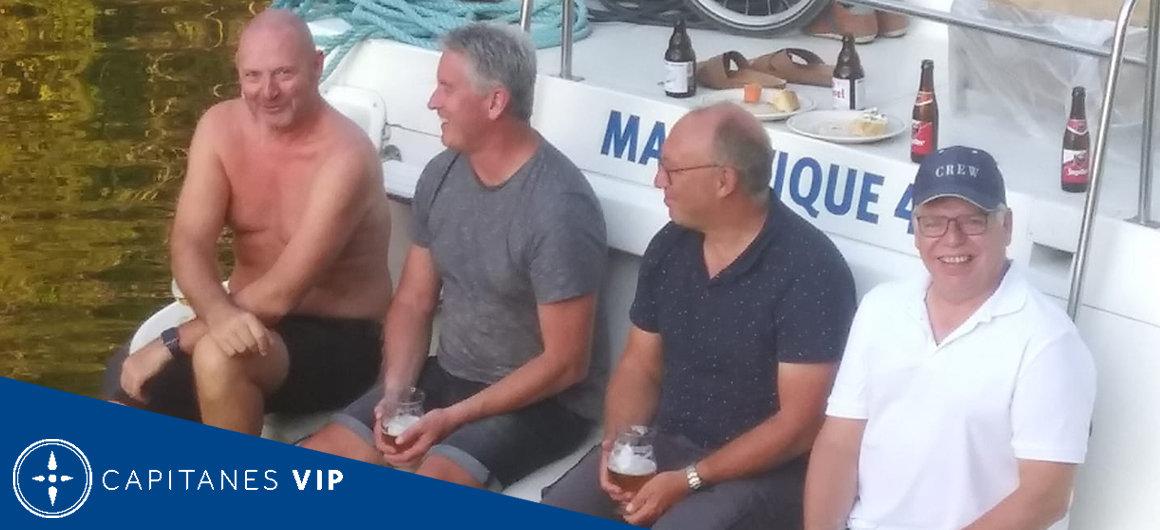 Capitán Ronny en Francia