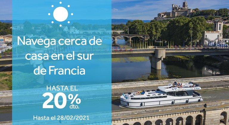 Tu crucero fluvial en Francia