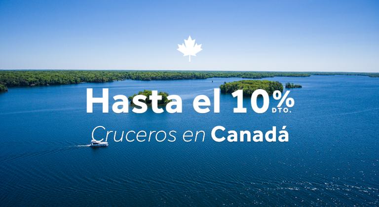 Crucero fluvial en Canadá