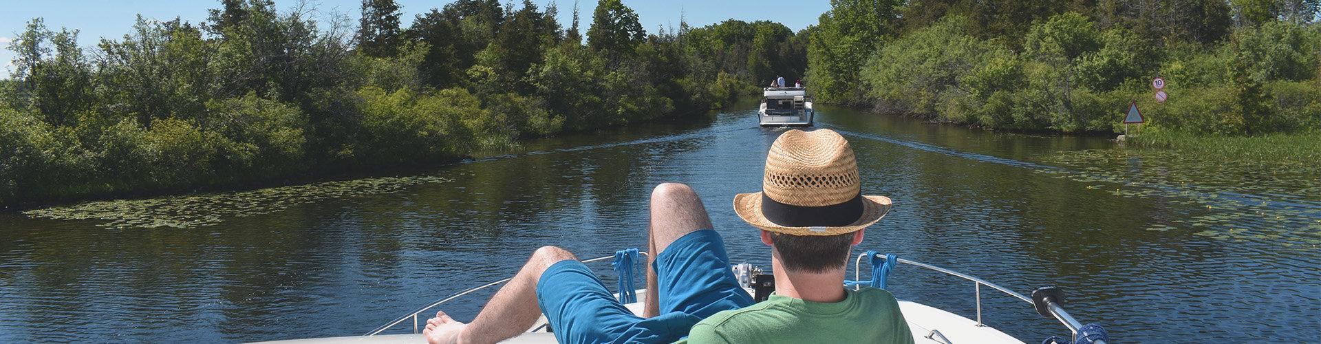 Barco Horizon en Canadá