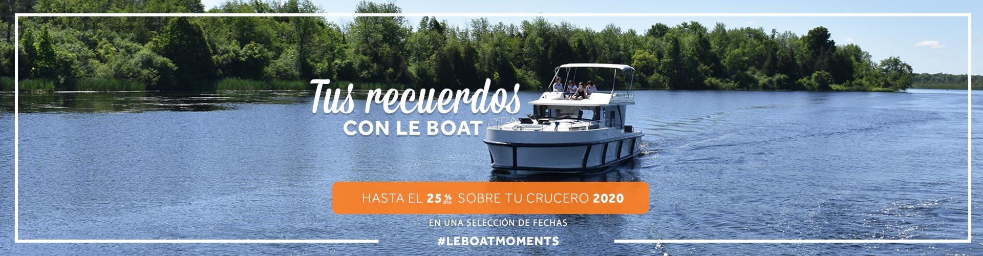 Vacaciones fluviales con Le Boat