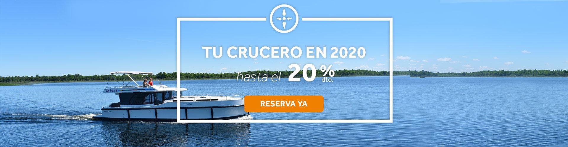 Ofertas de cruceros Le Boat