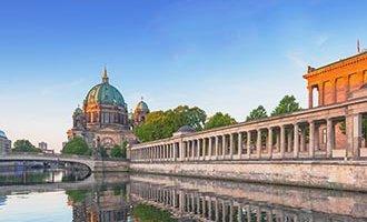 Berlín al atardecer