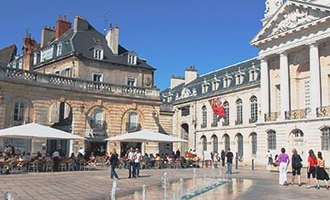 Plaza en Dijon