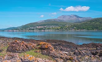 Fort William y Ben Nevis