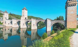Puente Valentré en Cahors