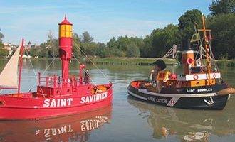 Puerto en Miniatura en Saint-Savinien