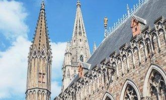 Catedral de San Martín en Ypres, Flandes
