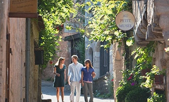 Calles en Saint-Cirq-Lapopie